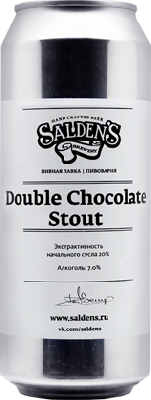 салденс дабл чоколат стаут / salden's double chocolate stout ж/б (0,5 л.)