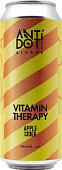Сидр Антидот Витамин Терапи Эпл / Cider Antidot Vitamin Therapy Apple ж/б (0,5 л.)