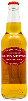 сидр хенней'с херефордшир полусухой / cider henney's herefordshire medium (0,5 л.)